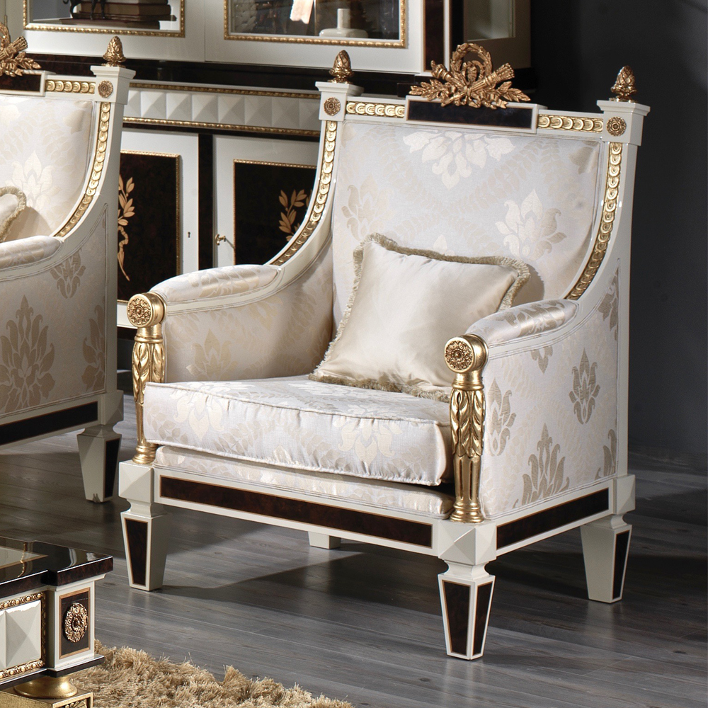 luxury baroque armchair