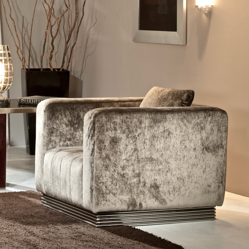 luxury armchair, high end contemporary furniture