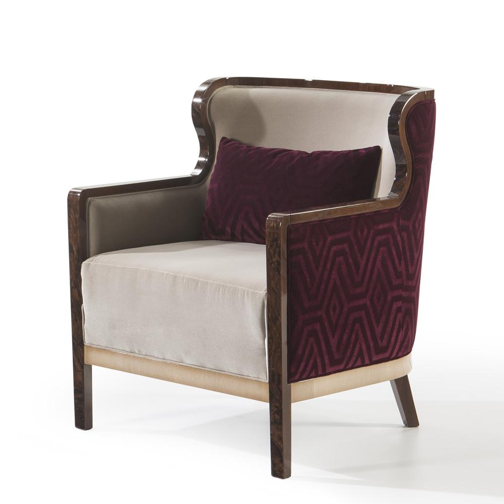 luxury armchair, high end contemporary armchair
