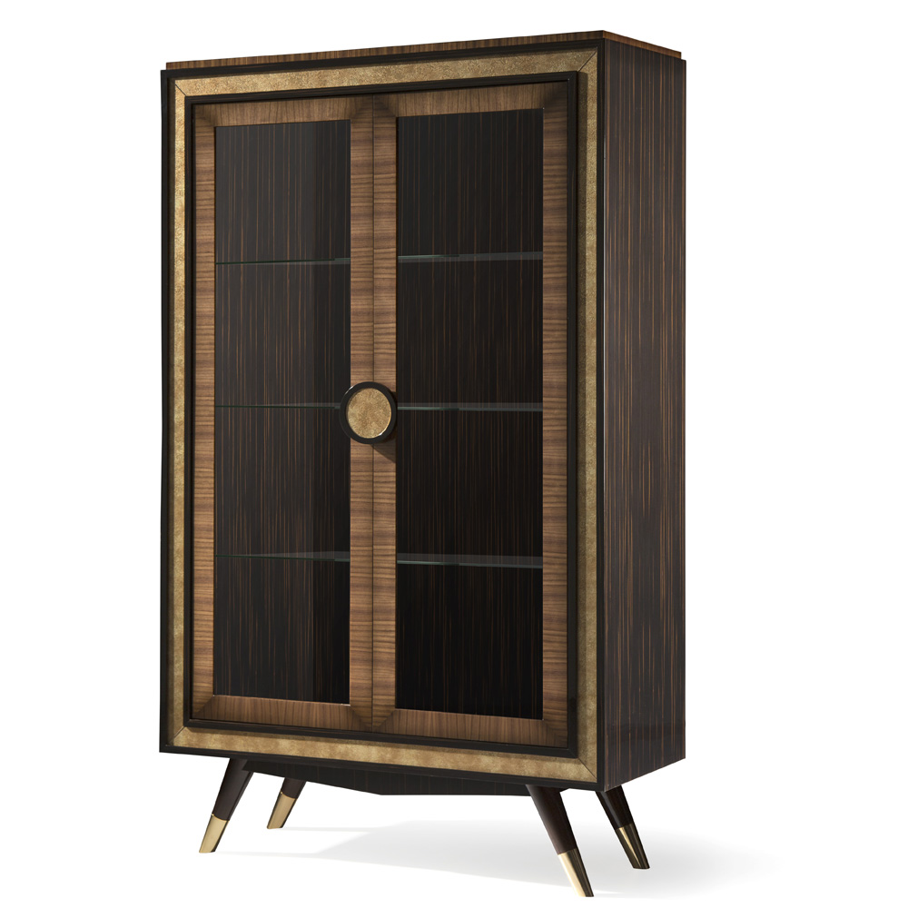 luxury art deco display cabinet, high end cabinet
