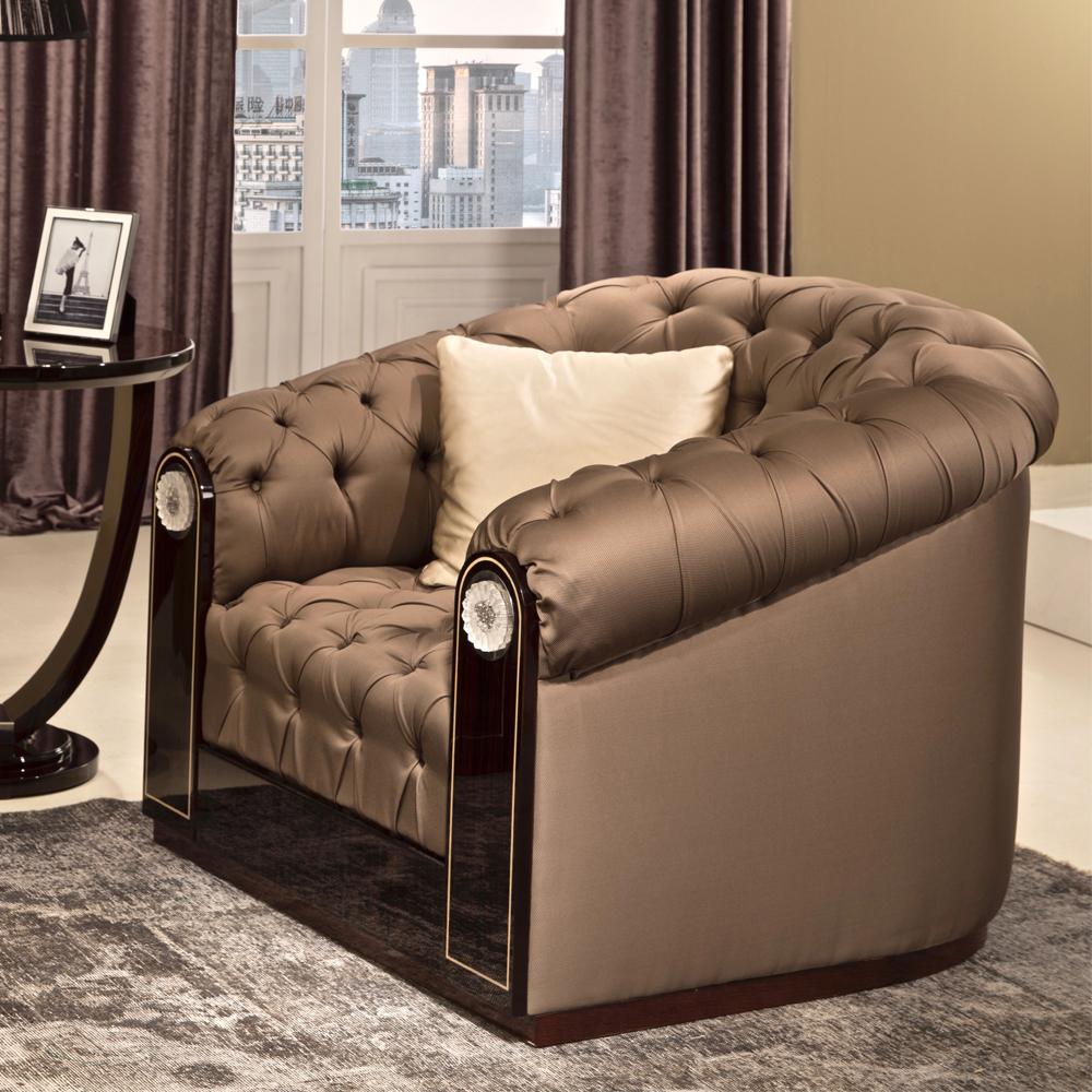 luxury art deco armchair